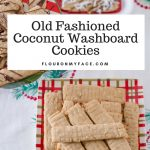 Cookie Exchange Coconut Washboard Cookies