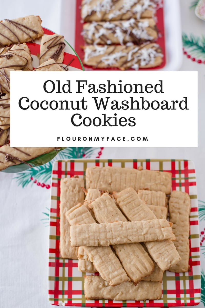 Old Fashioned Coconut Washboard Cookies recipe