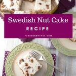 Old Fashioned Swedish Nut Cake Recipe with Video