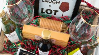 Diy Wine Gift Basket Ideas Flour On My Face