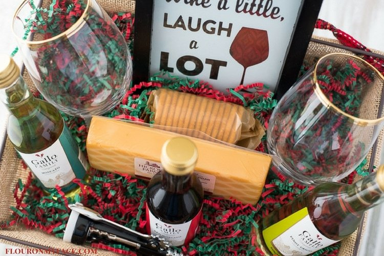 Diy Wine Gift Basket