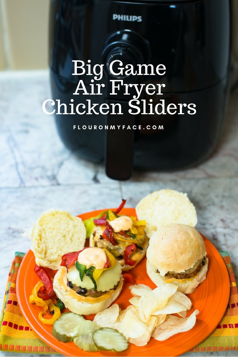 Philips AirFryer with easy Southwestern Chicken Sliders