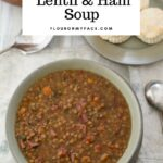 Crock Pot Lentil Ham Soup