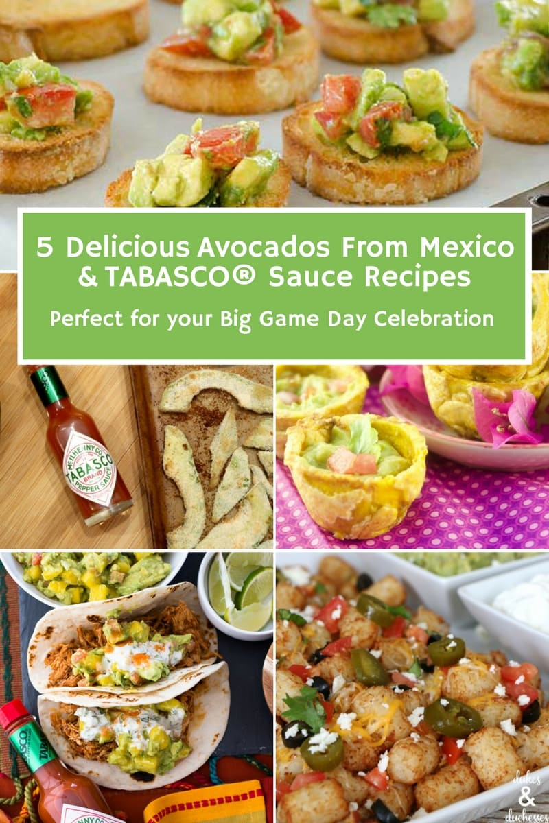 #ad It is time to #celebrate the BIG GAME and @AvosFromMexico and @Tabasco is here to help you party in style with the best guacamole recipes you have ever seen. Head over and check the recipes out at https://bit.ly/2p8H3ky #GuacWorld #FlavorYourWorld #guacamole #flouronmyface