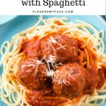 Homemade Instant Pot Meatballs with Spaghetti recipe