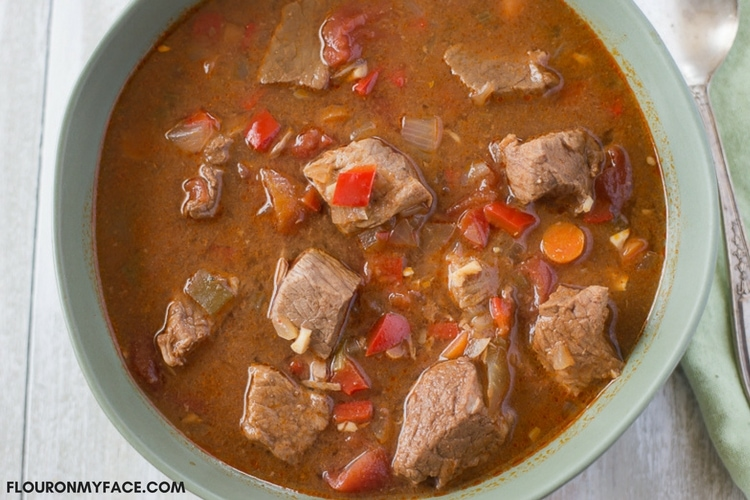 Crock Pot Hungarian Goulash Recipe Flour On My Face