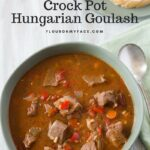 Traditionally made Crock Pot Hungarian Goulash recipe