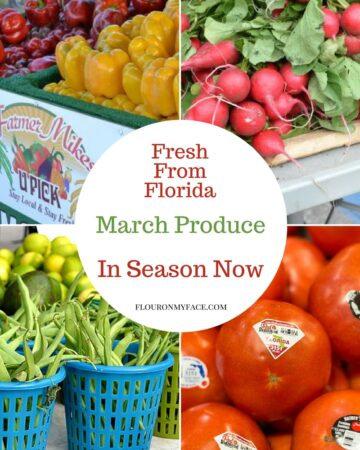 Florida fresh produce in season for March
