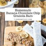Banana Chocolate Chip Granola Bars Recipe