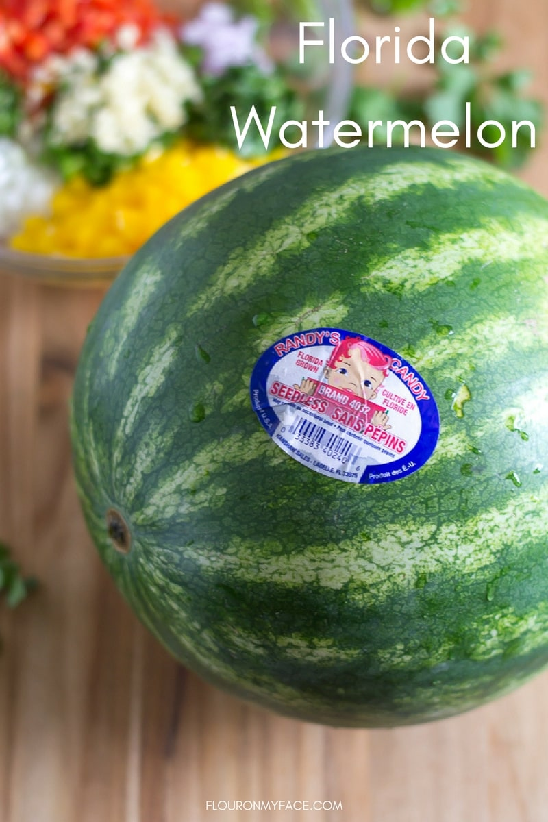 Florida watermelon is in season for April.