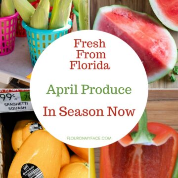 Fresh from Florida April produce in season now.