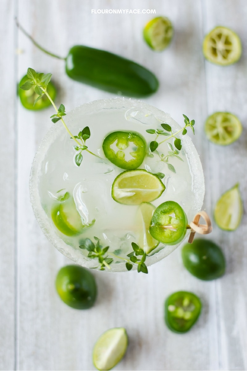 Jalapeno Margarita ingredients