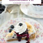 Florida blueberries recipe No Bake Blueberry Cheesecake Pie
