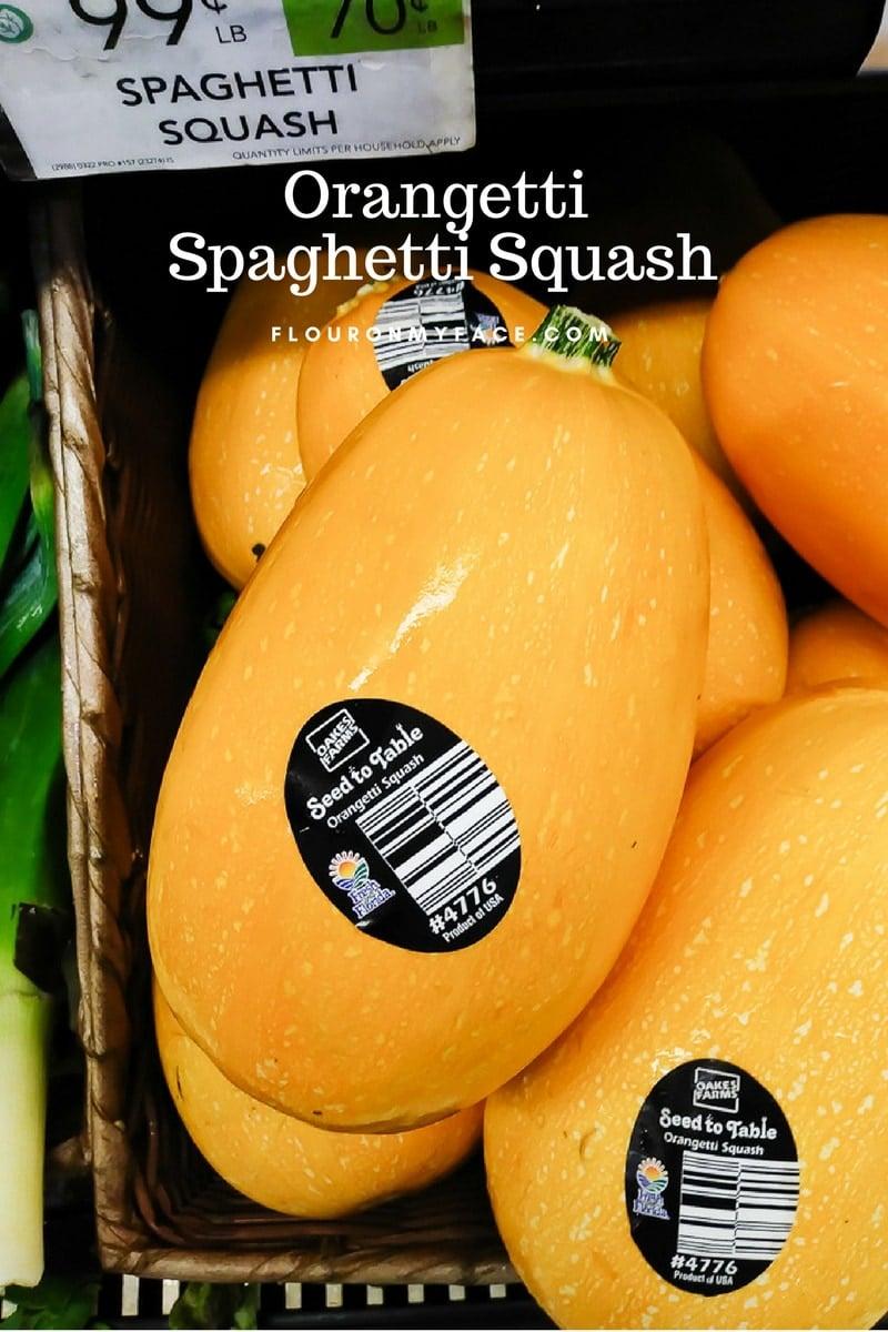 Orangetti Spaghetti Squash