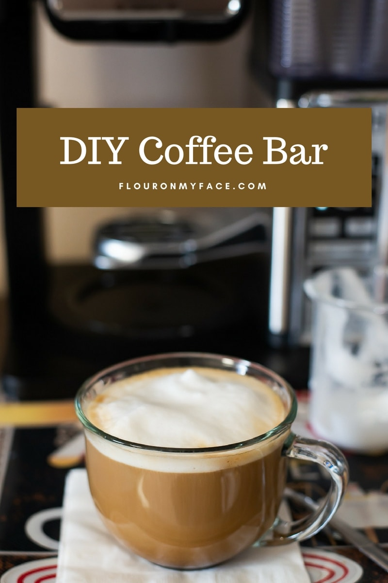 DIY Coffee Bar with the Ninja Coffee Bar Station