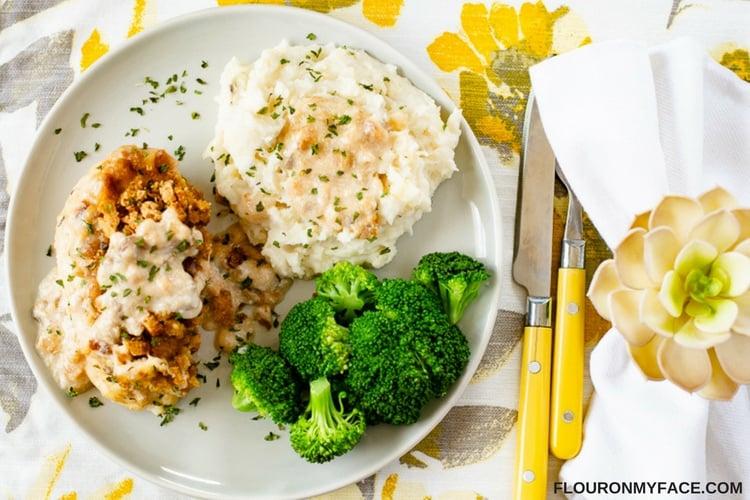 Easy Swiss Chicken Crock Pot recipe