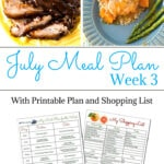Flour On My Face Weekly Meal Plan 3