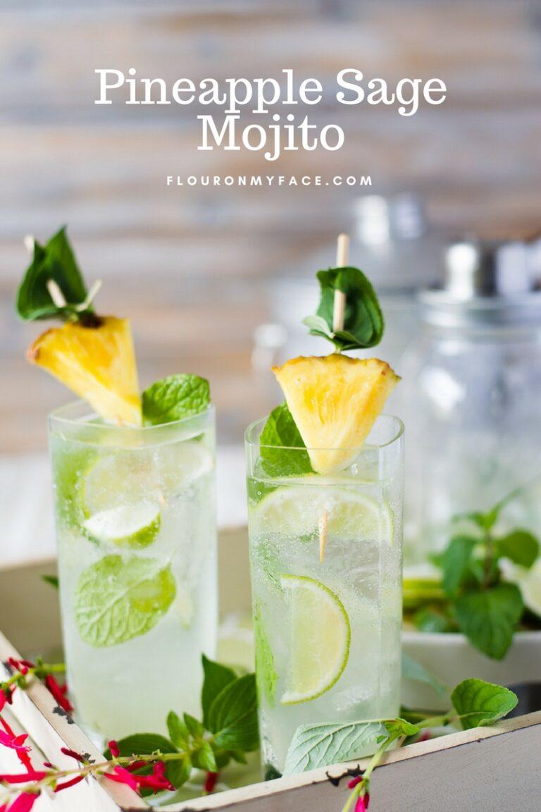 Pineapple Sage Mojito Recipe