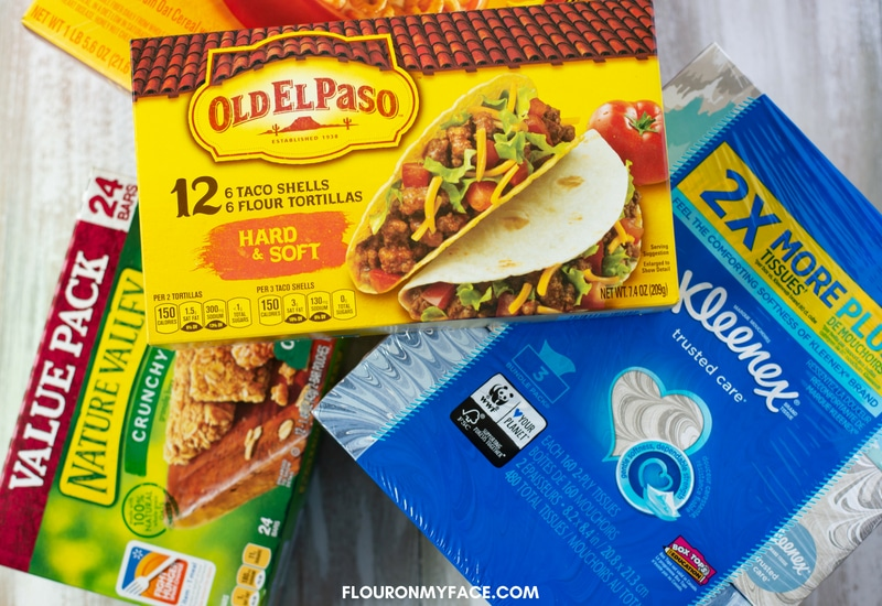 Box Tops For Education General Mills products