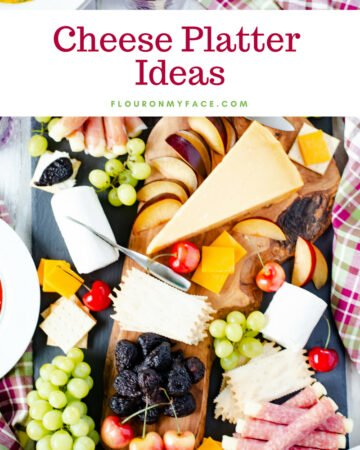 Meat, Fruit and Cheese Platter Ideas.