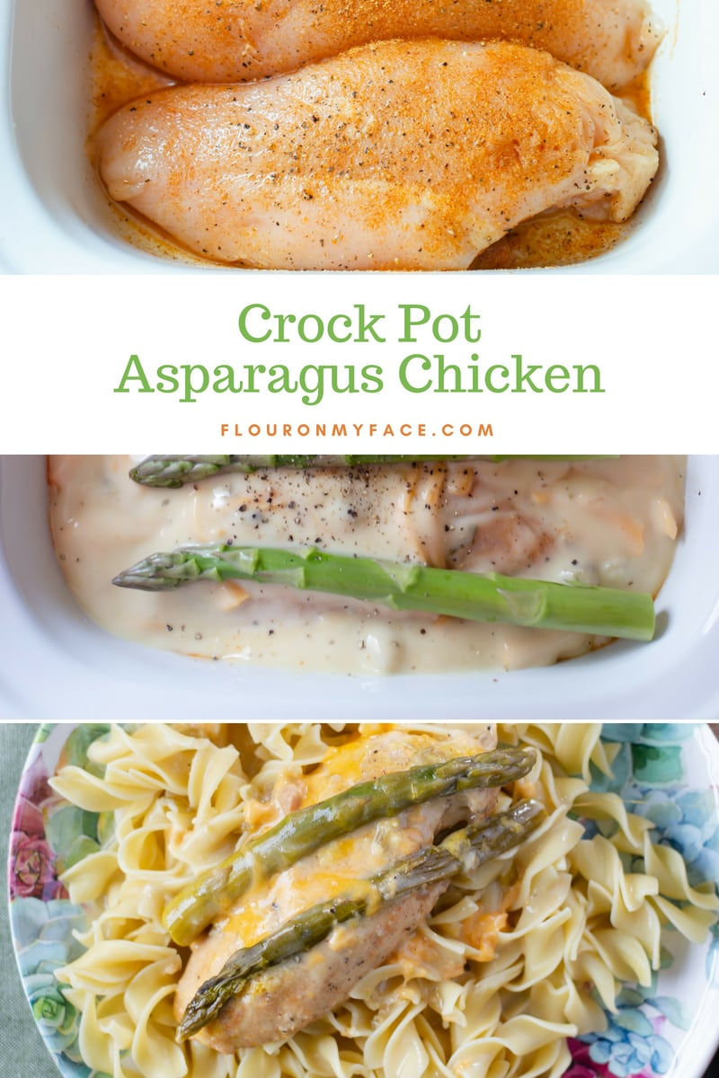 How To Make Crock Pot Asparagus Chicken.
