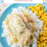 Easy Crock Pot Chicken Cordon Bleu recipe made without bread crumbs