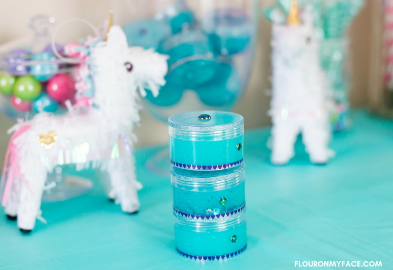Easy Unicorn Slime Party Favors