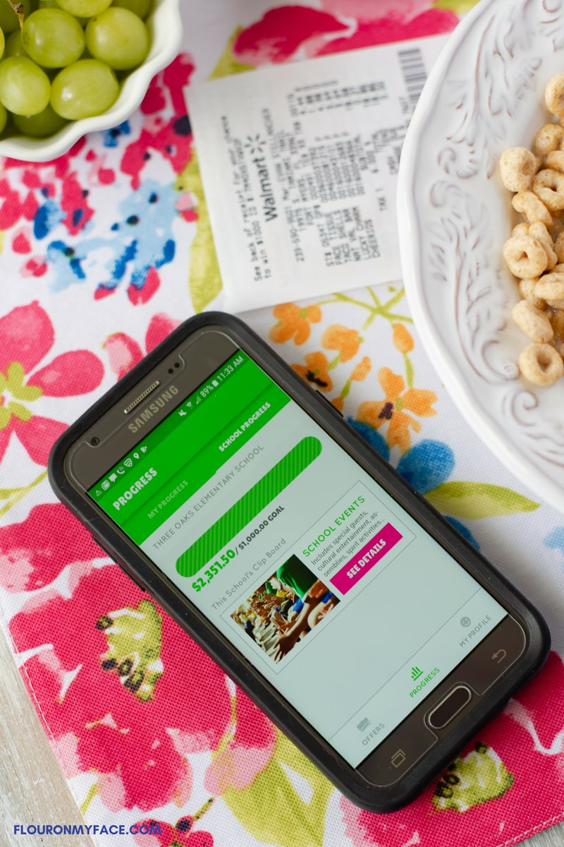 Track your schools Box Tops earnings with the BTFE app