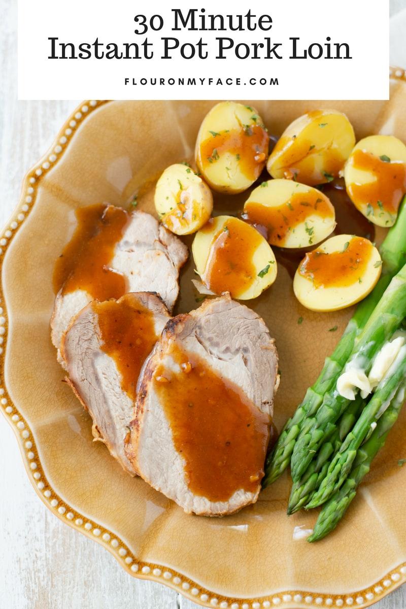 30 Minute Instant Pot Pork recipe