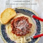 Chunky Crock Pot Spaghetti Meat Sauce Recipe