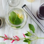 Pineapple Sage Cocktail Ingredients.