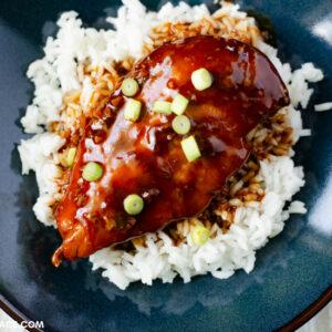 Slow cooker Honey Garlic Chicken Breast recipe