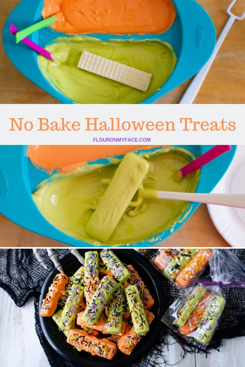 How To Make No-Bake Halloween Treats