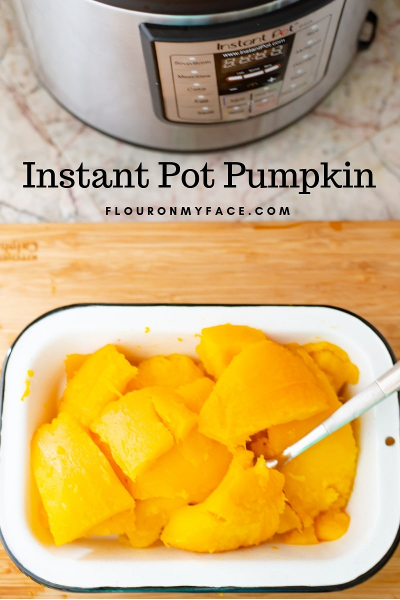How To Cook fresh pumpkin in the Instant Pot