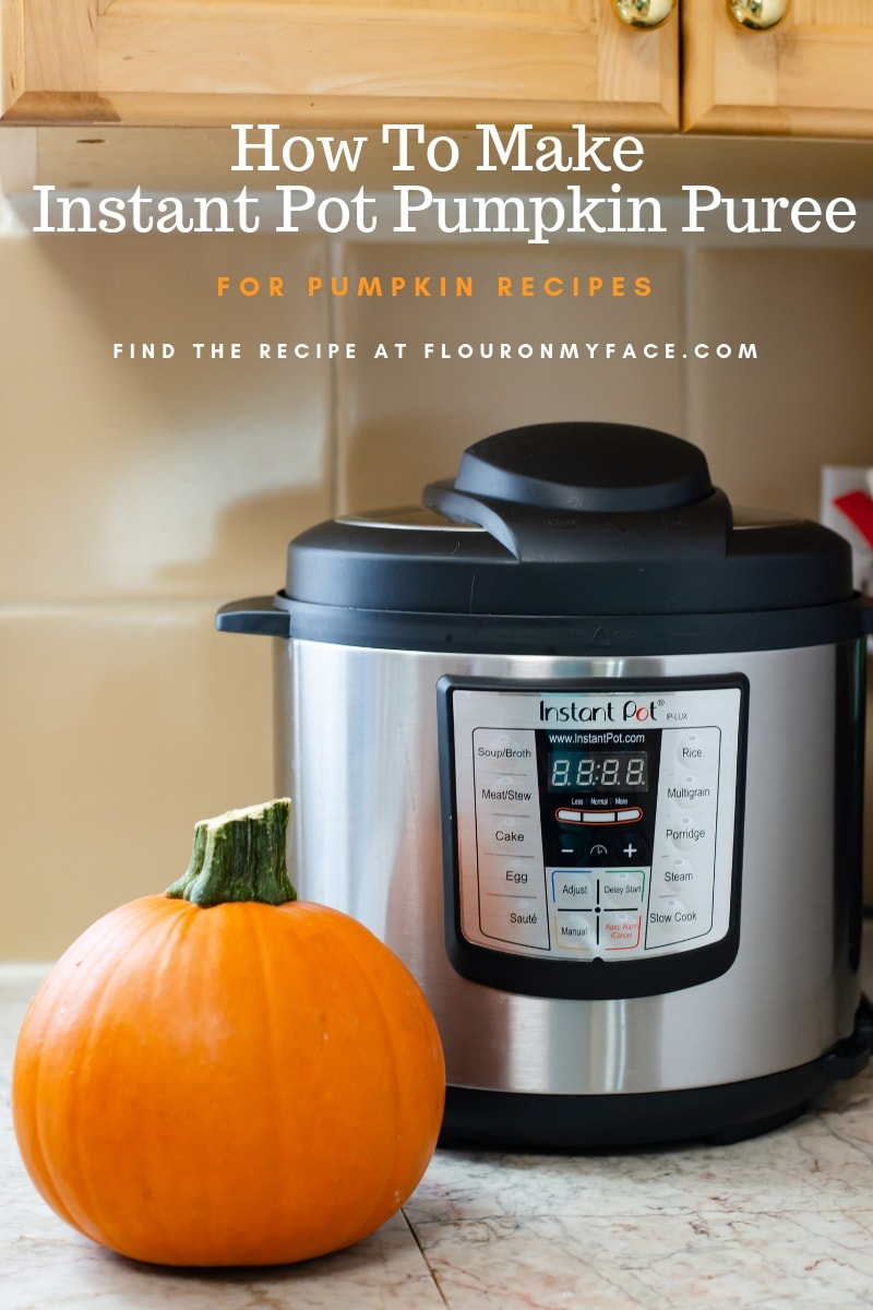 How To Make Instant Pot Pumpkin Puree with easy step by step instructions and photos.