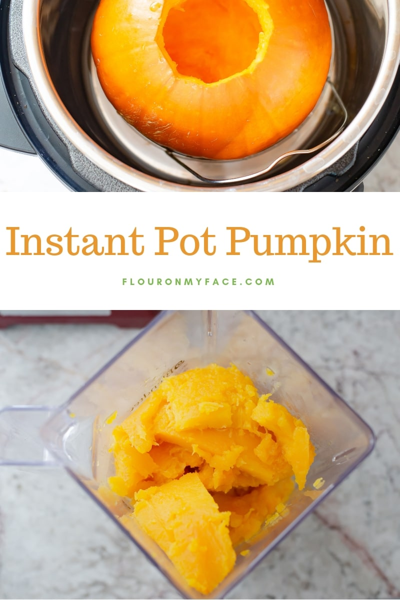 How to make Instant Pot Pumpkin in the electric pressure cooker.