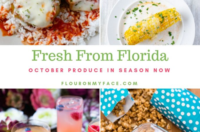 Fresh From Florida October Produce in season now.