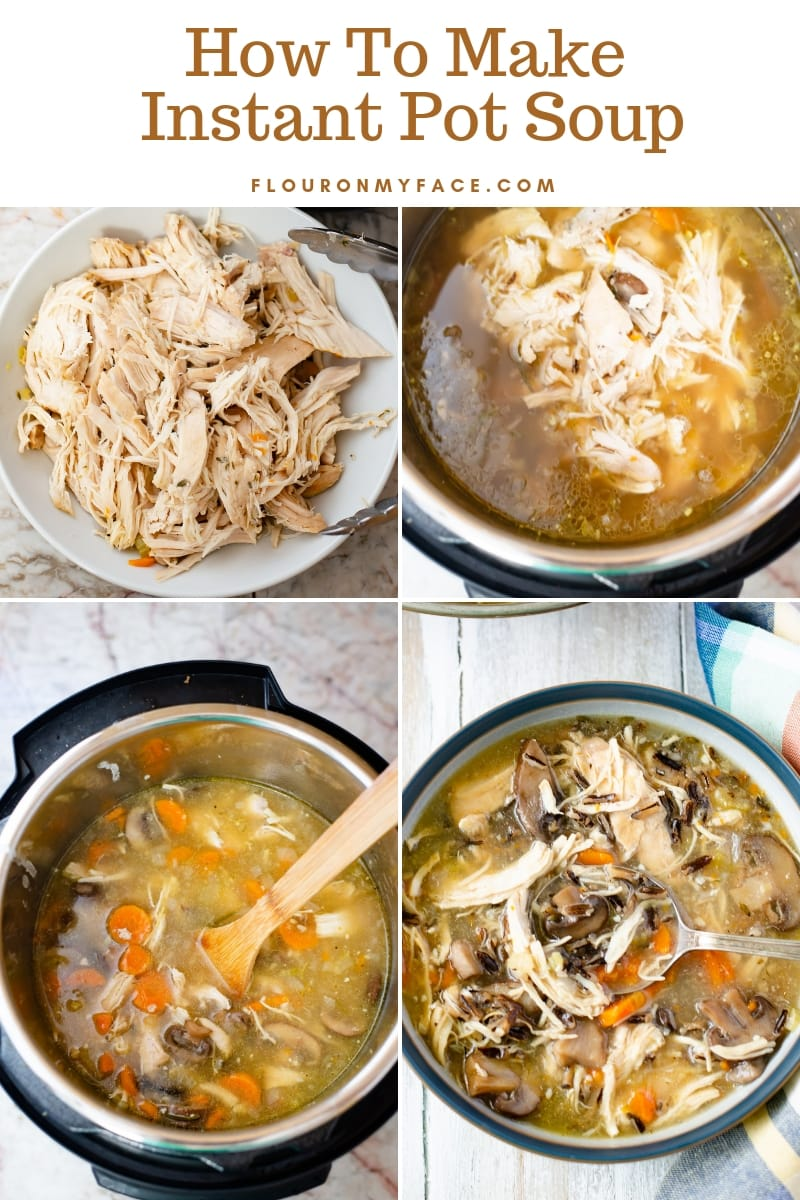 Step by Step photos for How To Make Instant Pot Soup