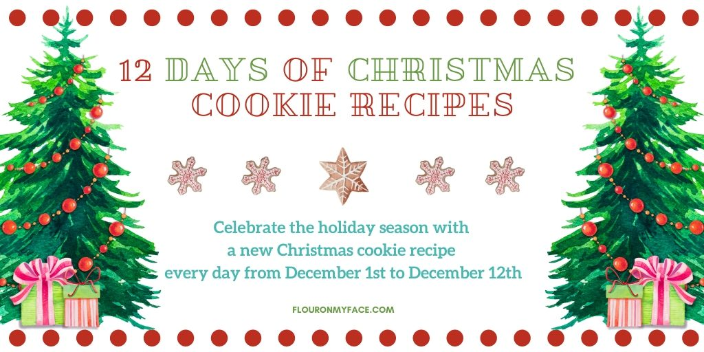 12 Days of Christmas Cookies Invite