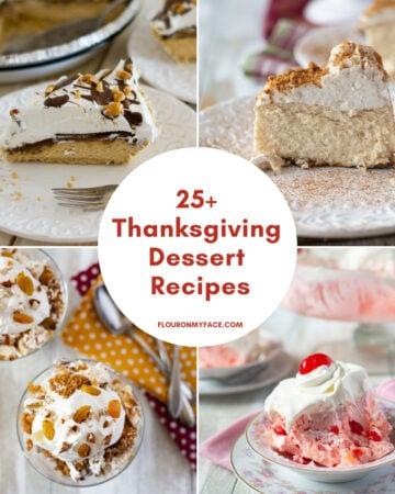 25 Thanksgiving Dessert recipes