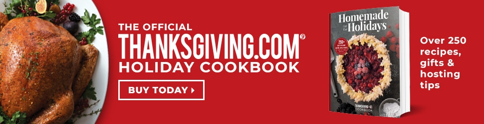 The official holiday cookbook of Thanksgiving.com