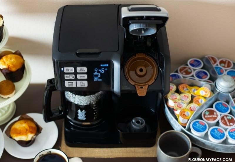 Hamilton Beach Flexbrew Coffee Maker Giveaway #ad #coffeemoments #flexbrew