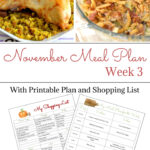 November Weekly Meal Plan Week 3 free menu planning printable and shopping list