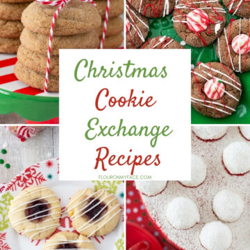 Cookie Exchange recipes collage photo featuring the best cookie exchange recipes