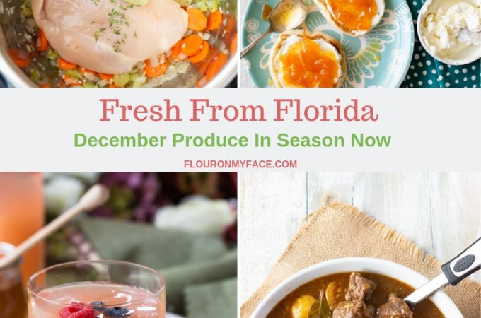 Fresh From Florida December Produce in Season Now collage photo