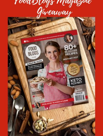 FoodBlogs Magazine Giveaway
