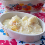 Single serve bowl with Gouda Cauliflower Casserole recipe
