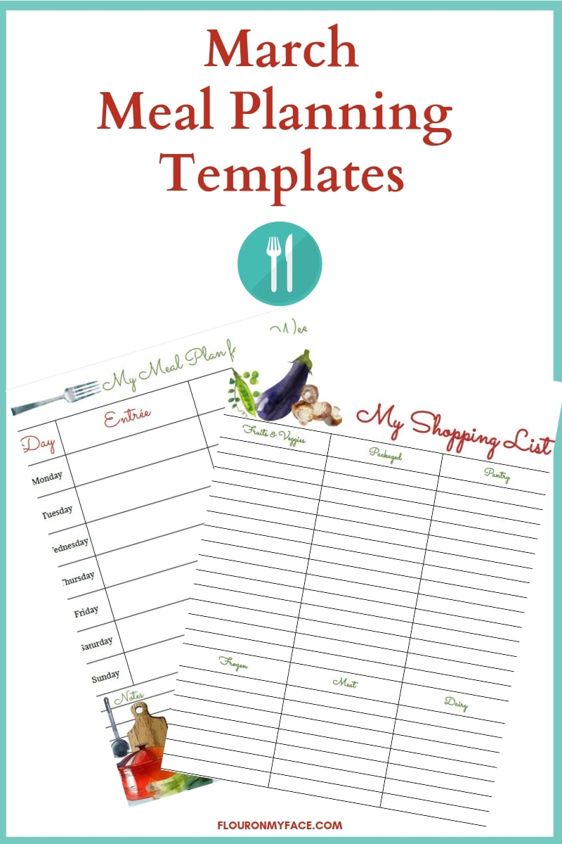 Meal Planning Templates preview
