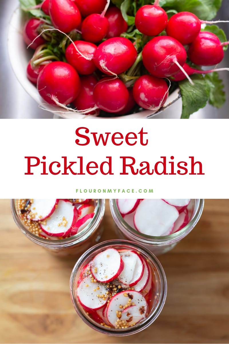 Sweet Pickled Radish recipe