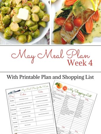 Preview photo of May Weekly Meal Plan 4